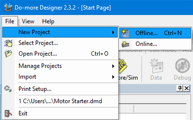 """ab2e8bc4be49 If the """"Select Project"""" dialog box does not automatically pop up then go to  File"""