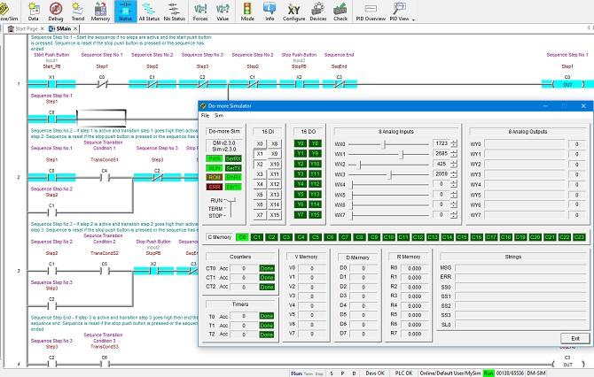 Ladder Logic Simulator Ladder Logic World